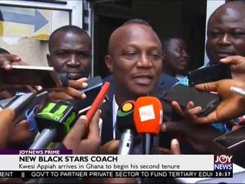 New Black Stars Coach - JoySports Prime (21-4-17)