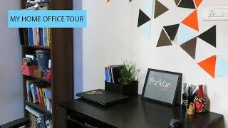 Home Office Tour | My Minimalist Home Office Tour | Indian Home Office