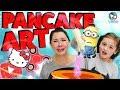 Pancake Art Challenge - Minions & Fidget Spinner backen?! Geschichten und Spielzeug