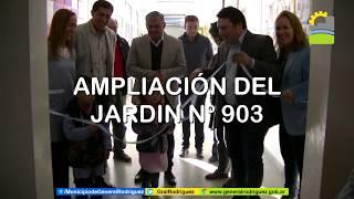 AMPLIACIÓN DEL JARDÍN Nº903