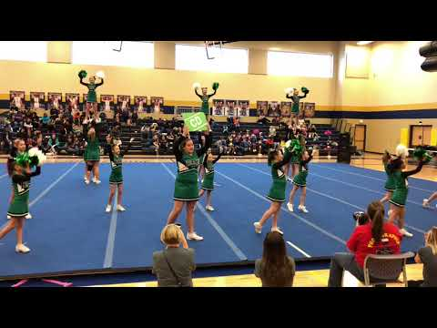CD Youth Rams Competition Cheer @ Blizzard Battle (14 Jan 2018)