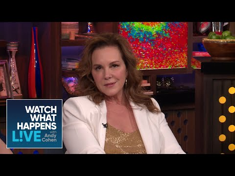 Is Elizabeth Perkins Team Bethenny Frankel Or Team Carole Radziwill?  RHONY  WWHL