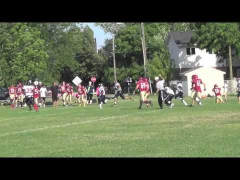 Curtis Balleteros 60 Yard Interception