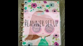 Happy Planner Set Up and Walk-through