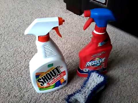 How To Remove Tough Carpet Stains - Youtube