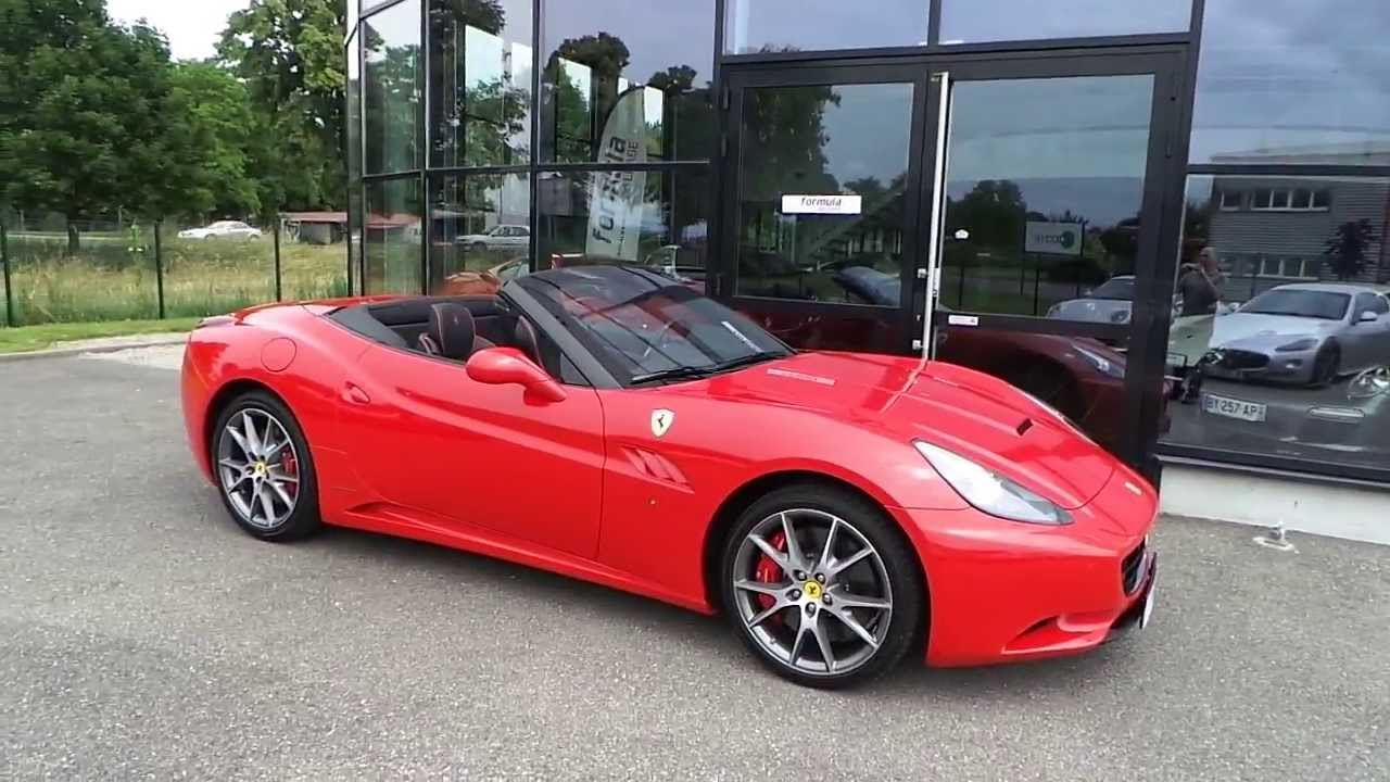 ferrari california rouge 30 2012 youtube. Black Bedroom Furniture Sets. Home Design Ideas