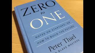 Peter Thiel - Zero to One Audiobook
