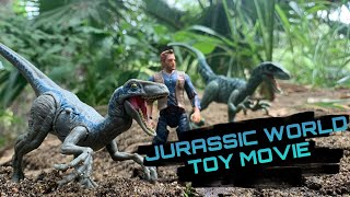 JURASSIC WORLD TOY MOVIE : BLUES WILD FAMILY PART 2