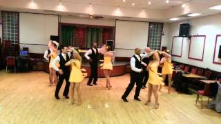 Caramelo Latin Dance Salsa Partnerwork Student Performance Team Show 25 03 2014