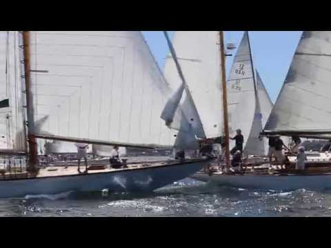 Herreshoff SPARTAN at Newport's Classic Yacht Regatta, 2014