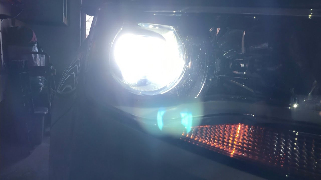 how to modify dust covers to fit led hid headlights [ 1280 x 720 Pixel ]