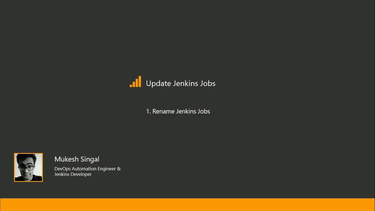 Rename Jenkins job using groovy or java