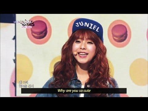 JUNIEL - Pretty Boy (2013.05.18) [Music Bank w/ Eng Lyrics]