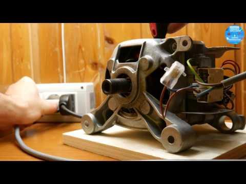 Schema Collegamento Motore Lavatrice 7 Fili : Collegare motore lavatrice universale a corrente continua e