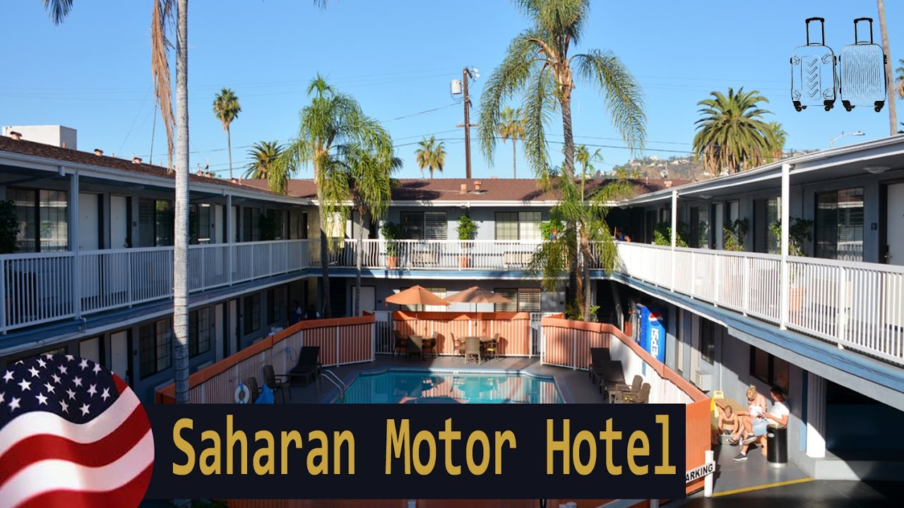 saharan motor hotel los angeles california estados
