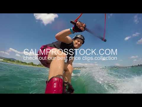 wakeboard gopro action cam stock video collection 🙂 CalmprosSTOCK