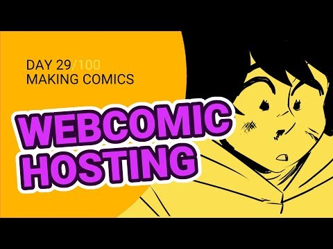 Where Should You Post Your Webcomic? - 100 Days Of Making Comics - DAY 29