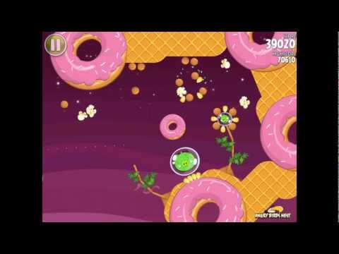 Angry Birds Space S-8 Utopia Bonus Level Walkthrough