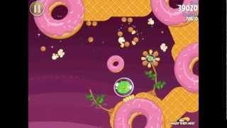 Angry Birds Space S-8 Utopia Bonus Level Walkthrough