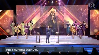 Miss Philippines Earth 2017: Top 10 Q&A portion