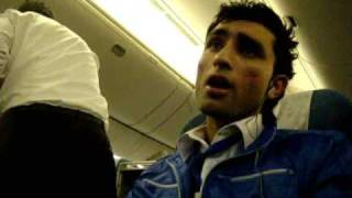 Visit to Pakistan Volume 1 Lahore Special ( Dancing on  the Plane)