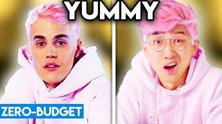 Download lagu JUSTIN BIEBER WITH ZERO BUDGET! (Yummy PARODY)