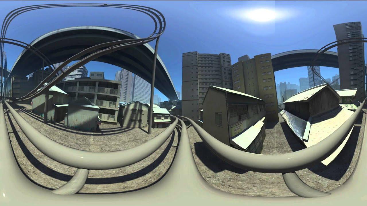 Cg 360Vr 360-Degree Vr Roller Coaster -3341