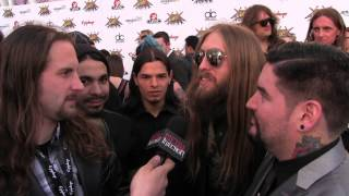 Suicide Silence at REVOLVER GOLDEN GODS 2014 | Metal Injection
