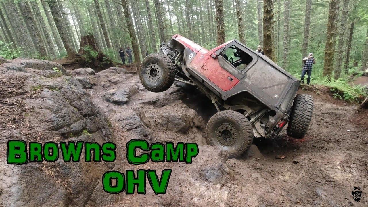 Wet Rocks and REV Limiters! Browns Camp OHV Park
