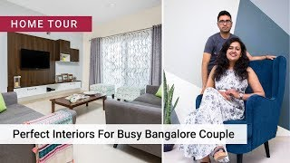 2BHK Home Interiors in Bengaluru by Livspace   Radhika & Raghavan's #LivspaceHome