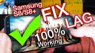 Pubg มือถือ#3 สอนแก้อาการ แลค กระตุก Samsung S8 and S8 Plus