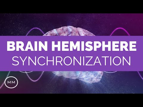 Brain Hemisphere Synchronization - Activate The Entire Brain - Meditation Music - Binaural Beats