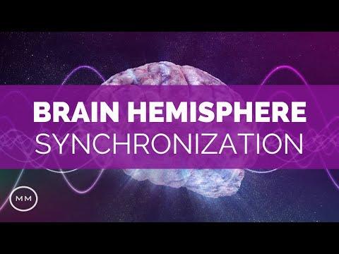 Brain Hemisphere Synchronization - Meditation Music - Activate Your Entire Brain - Binaural Beats