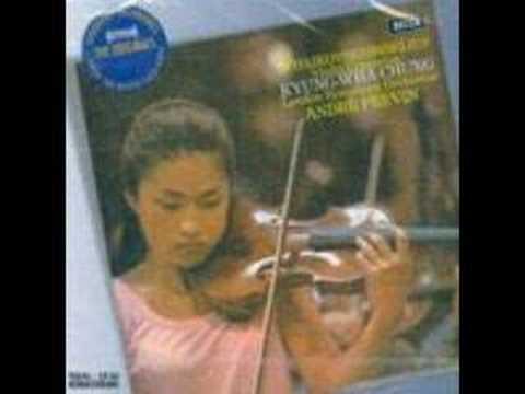 Kyung Wha Chung - Sibelius Violin Concerto 3rd