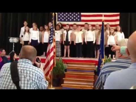 "Beeman Elementary School Chorus Performs ""These Green Mountains"""