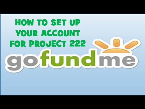 How To Set Up A GoFundMe Account