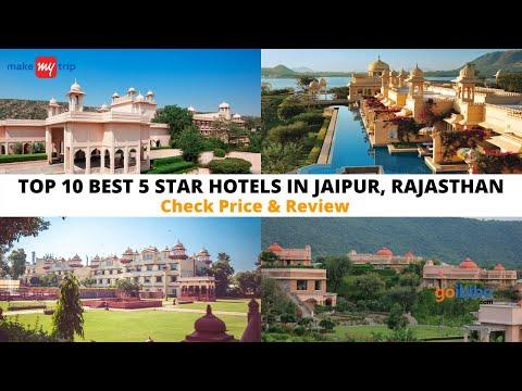 Top 10 Best 5 Star Hotels In Jaipur | Luxury Hotels In Jaipur
