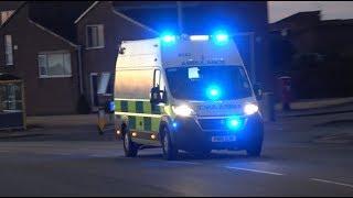 *BRAND NEW*North West Ambulance Service / 2018 Fiat Ducato / Emergency Ambulance Responding