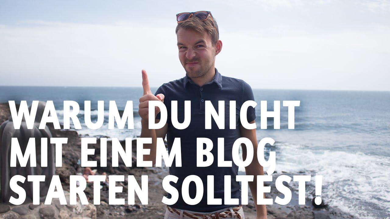 Blog erstellen: Warum du KEINEN Blog erstellen solltest