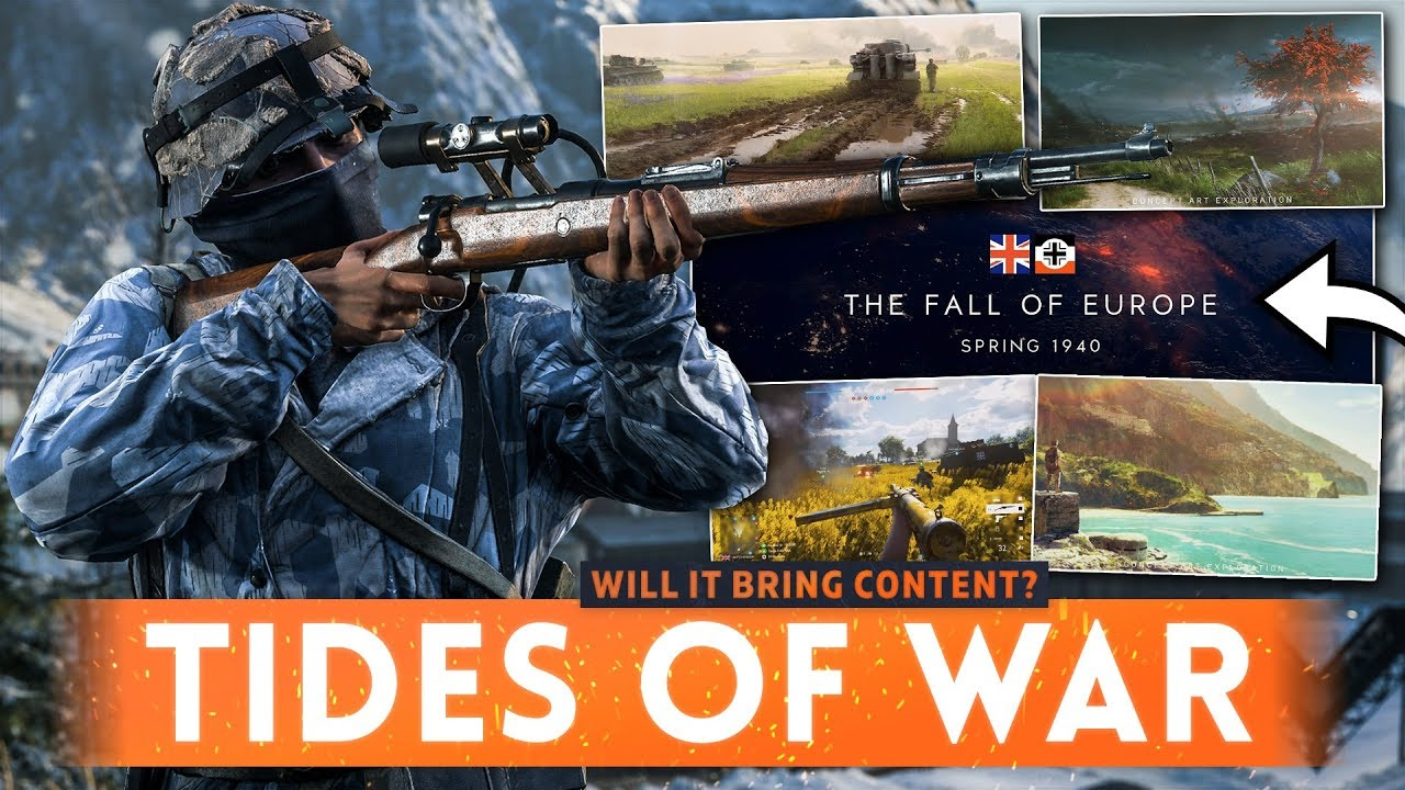 BATTLEFIELD 5 LIVE SERVICE: Good or Bad? Will It Deliver Enough Content? (Tides of War Discussion)