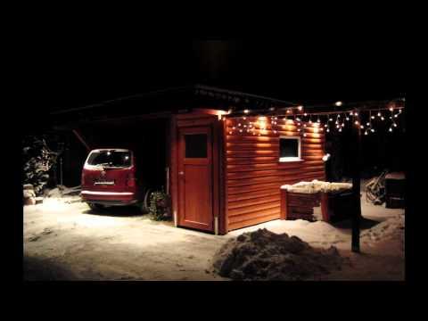 Doppelcarports Im Winter.wmv