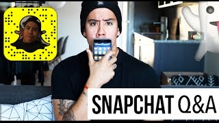 SNAPCHAT Q&A! (2) |  NUDES?! STARTING A YOUTUBE CHANNEL, GETTING FIT, ADVICE, & MORE | JAIRWOO