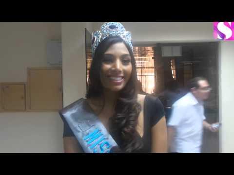 Vivian Serrano, mis Bolivia Mundo y Vinka Nemer, miss Bolivia Tierra visitan EL DEBER