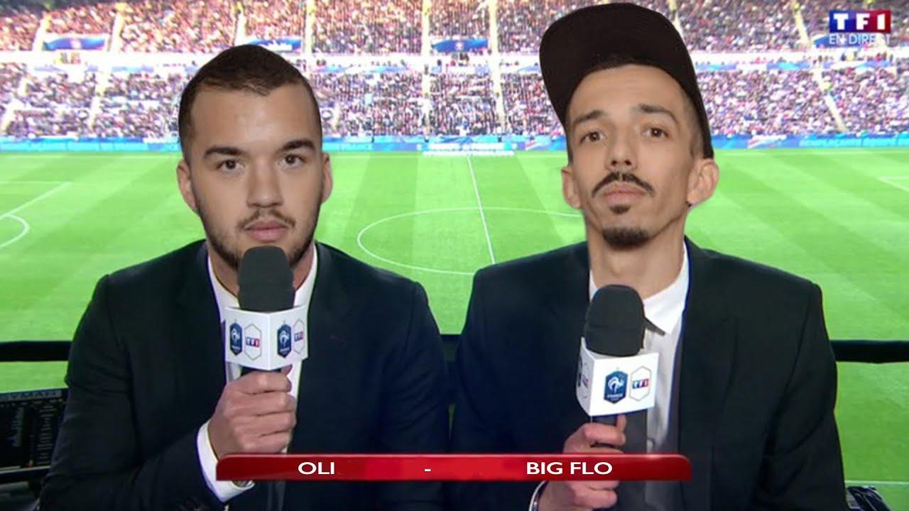 bigflo et oli testent commentateur de match de foot