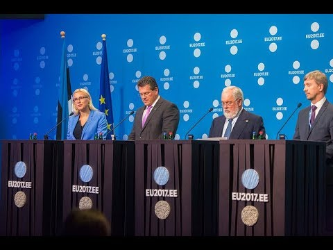 Informal TTE – Energy ministers press conference 20 September
