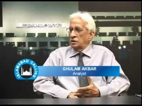 Ghulam Akbar on Imran Khan Part 1 - YouTube