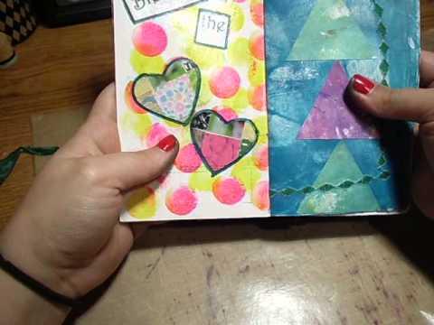 Deconstructed Art Journal Quilt Theme