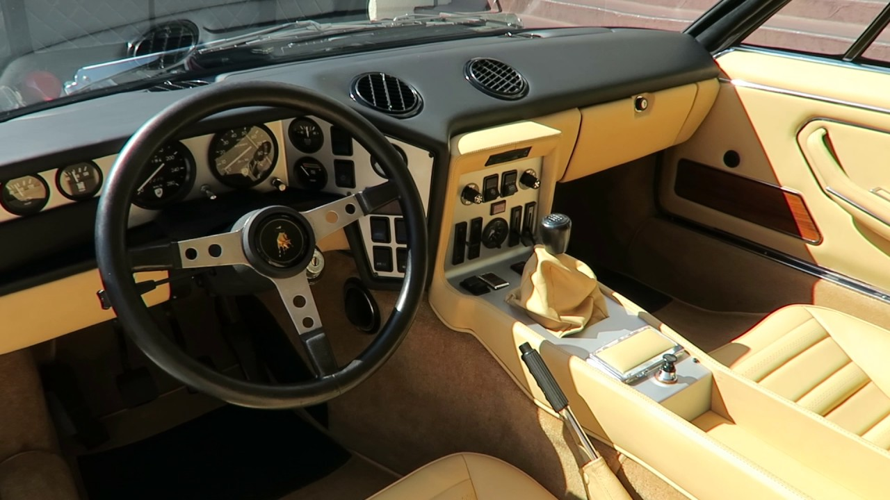 1973 Lamborghini Espada 400 Gt Opened Up Walk Around Youtube