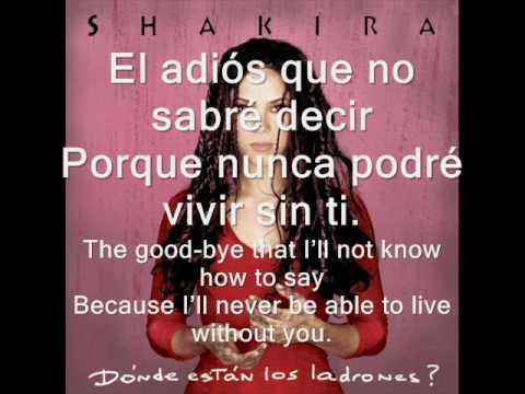 Shakira - Tú
