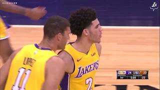 Highlights: Lonzo Ball leads the Lakers with 29 points, 11 rebounds & 9 assists